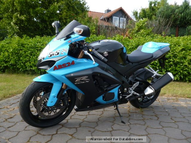 2013 Suzuki  GSX-R 1000 Rizla blue Motorcycle Sports/Super Sports Bike photo