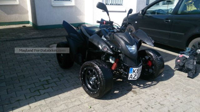 2009 Hercules  Adly 320S Flat Motorcycle Quad photo