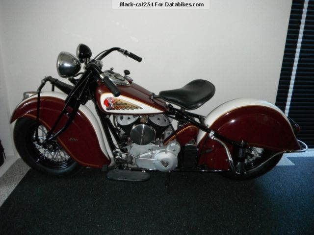1941 Indian  Big Chief 1200 CDA 1941 Motorcycle Motorcycle photo