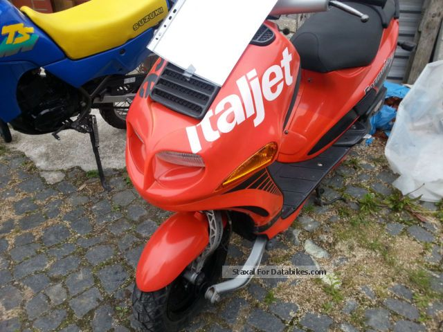 1998 Italjet  Fri 50 Race Motorcycle Scooter photo