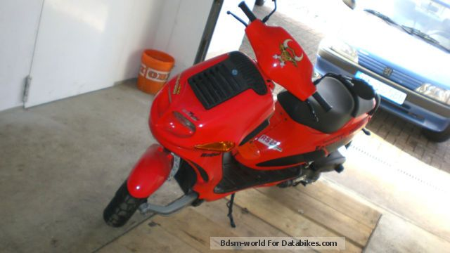 2008 Italjet  Formula 125 Twin Motorcycle Scooter photo