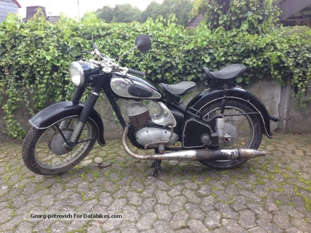 DKW  250/2 1956 Vintage, Classic and Old Bikes photo