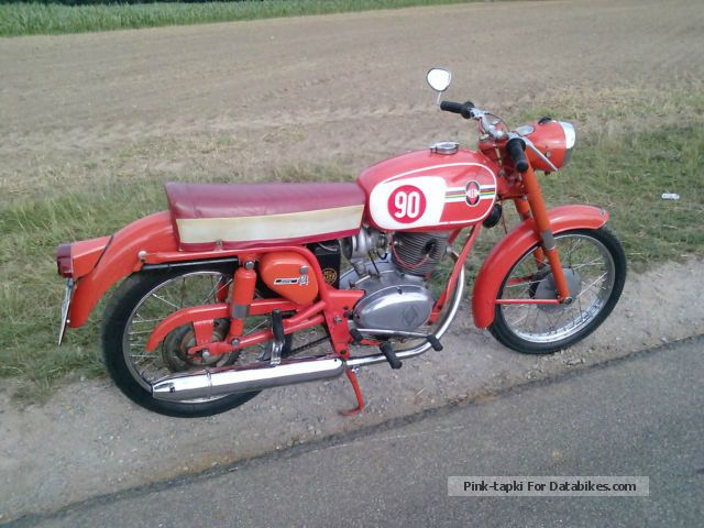 Gilera  Giubileo 124 extra 1961 Vintage, Classic and Old Bikes photo