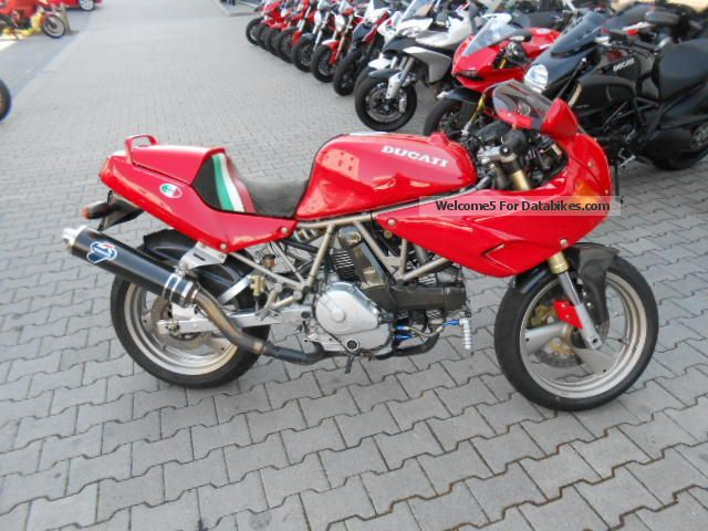 1195 Ducati  600 SS Nuda Motorcycle Sports/Super Sports Bike photo