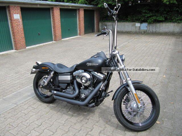 Harley Davidson  Harley-Davidson dyna Streetbob 2012 Chopper/Cruiser photo