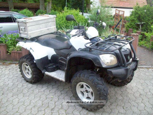 2007 GOES  CF500A Motorcycle Quad photo