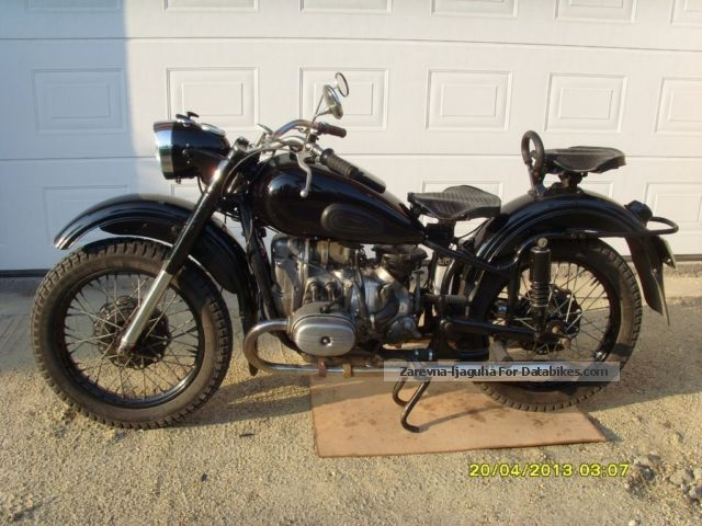 Ural  m66 1971 Vintage, Classic and Old Bikes photo