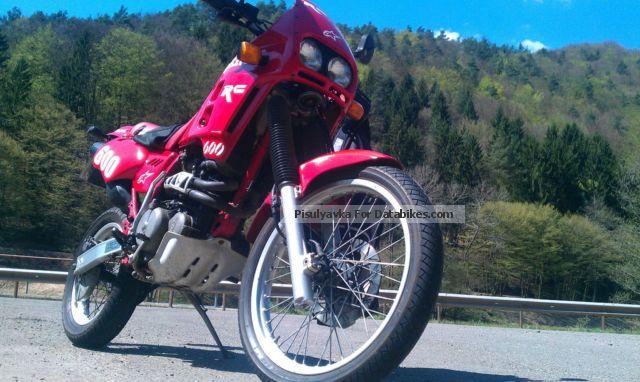 1990 Gilera  600 INT Motorcycle Enduro/Touring Enduro photo