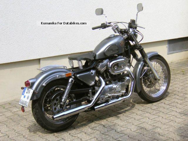 1990 Harley Davidson XL 2 Sportster Motorcycle