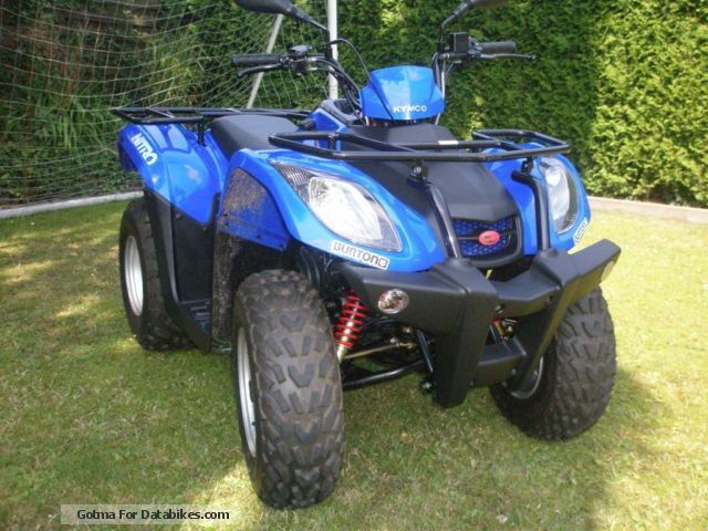 2007 Kymco  MXU 50 reverse Motorcycle Quad photo