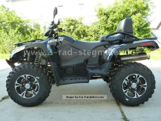 2012 Arctic Cat  ATV TRV 700i XT EFP model 2013 Motorcycle Quad photo