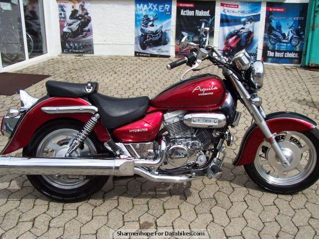 2007 Hyosung  GV 125 C Motorcycle Chopper/Cruiser photo