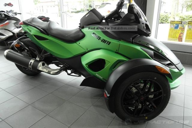 2012 Brp Can Am Spyder Rs S Se5 500 Accessories