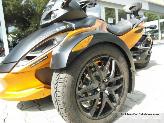 2012 BRP  Can Am Spyder RS-S SE5 in the customer order Motorcycle Quad photo