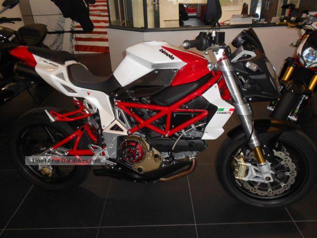 2008 Bimota  DB6 Delirio-1J garant Carbon Parts 1.Hand-Zard Motorcycle Naked Bike photo