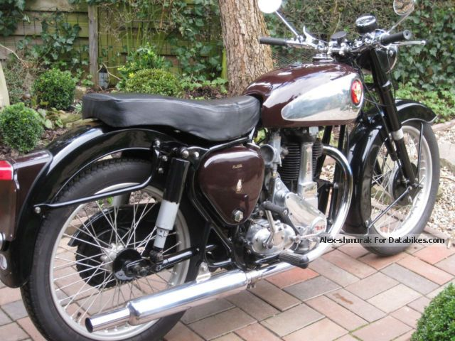 BSA  B31 Goldstar tank 1955 Vintage, Classic and Old Bikes photo