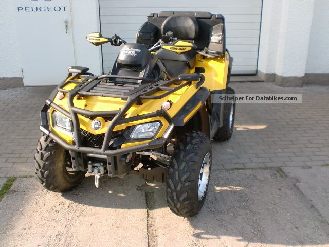 2010 Bombardier  Max XT 650EFI Motorcycle Quad photo