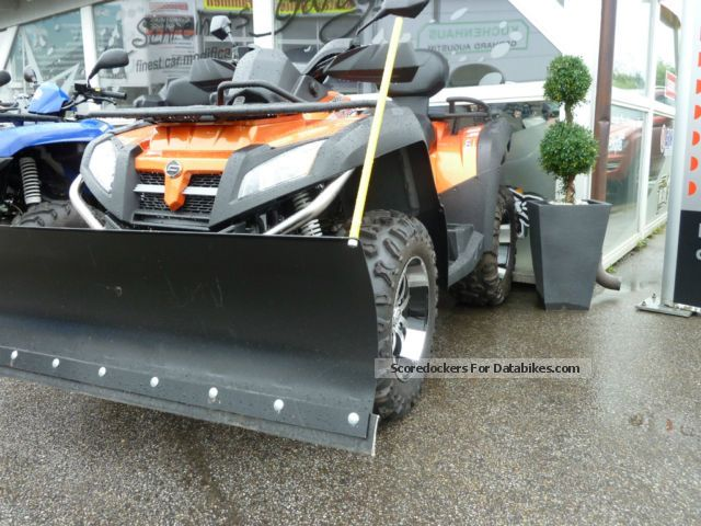 2013 CFMOTO  Terra Lander 800 4x4 LOF winter package from the dealer Motorcycle Quad photo