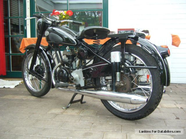 Zundapp  Zündapp DB203 Norma Comfort 1952 Vintage, Classic and Old Bikes photo