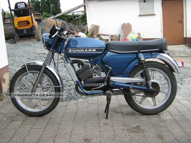 Zundapp  Zündapp KS 50 1971 Vintage, Classic and Old Bikes photo