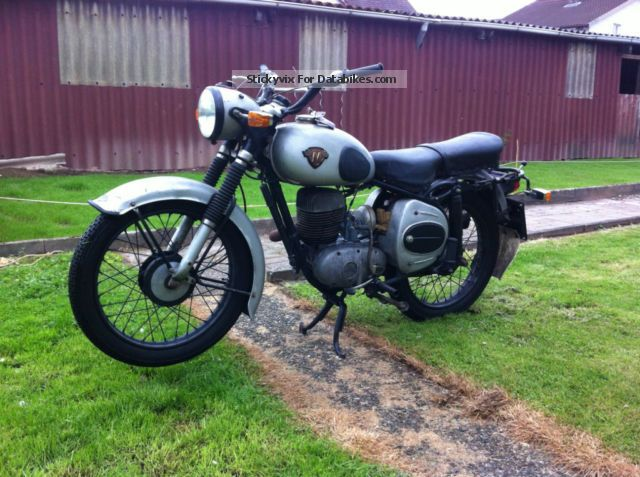 Maico  M 175 S2 1956 Vintage, Classic and Old Bikes photo