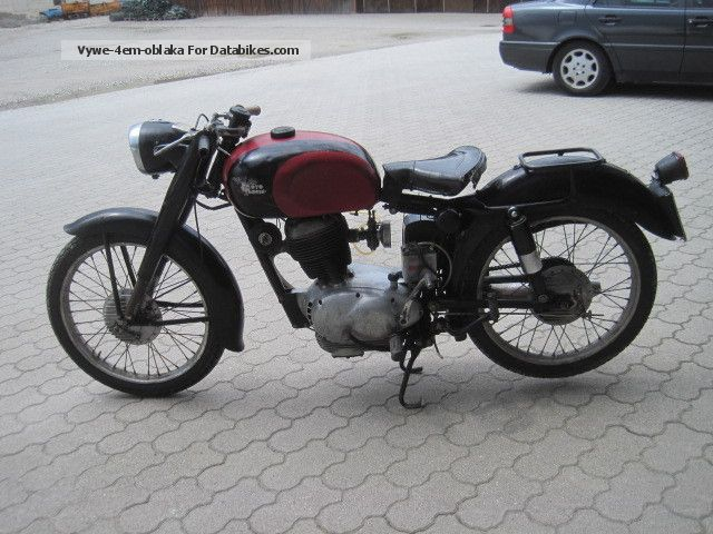 1954 Moto Morini  175 sport Motorcycle Motorcycle photo