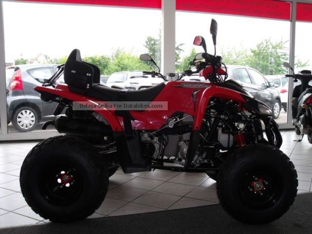 2013 Adly  Luxxon ATV 320/272 KM / condition Motorcycle Quad photo