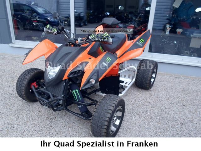 2013 Adly  Hurrican Motorcycle Quad photo