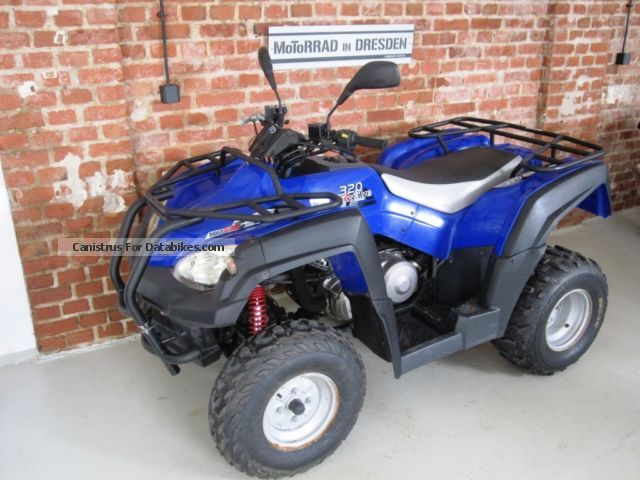 2009 Adly  320 Motorcycle Quad photo