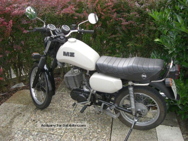 Mz  ETZ 150 2012 Motorcycle photo