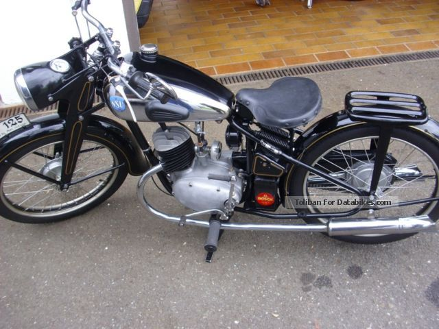 NSU  ZDP 1950 Vintage, Classic and Old Bikes photo