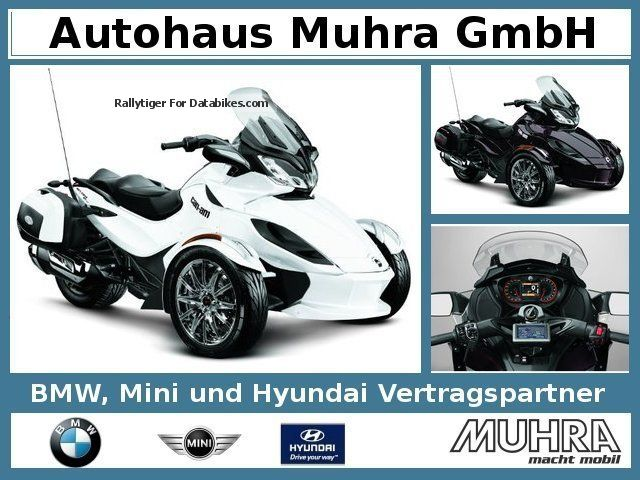 2012 Bombardier  Can Am Spyder ST LTD Mod 2013 Motorcycle Motorcycle photo