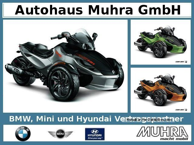 2012 Bombardier  Can Am Spyder RS-S SE5 Mod.2013 Motorcycle Motorcycle photo