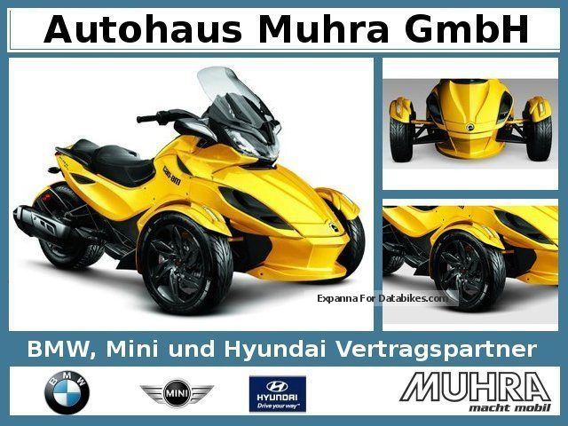 2012 Bombardier  Can Am Spyder ST-S SE5 2013 Mod Motorcycle Motorcycle photo