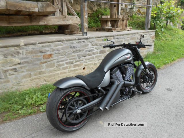 2013 VICTORY  Grey Hammer S, Custom Bike, Victory Cologne Bonn Motorcycle Motorcycle photo