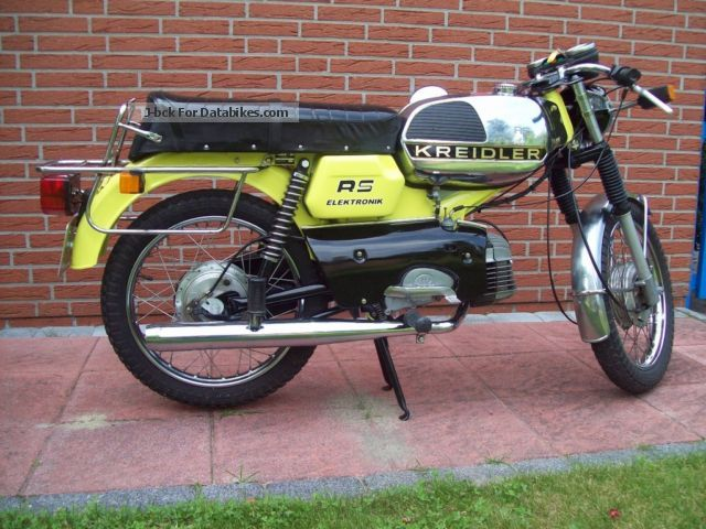 Kreidler  RS 1975 Vintage, Classic and Old Bikes photo