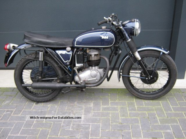 1968 BSA  B40 Motorcycle Motorcycle photo