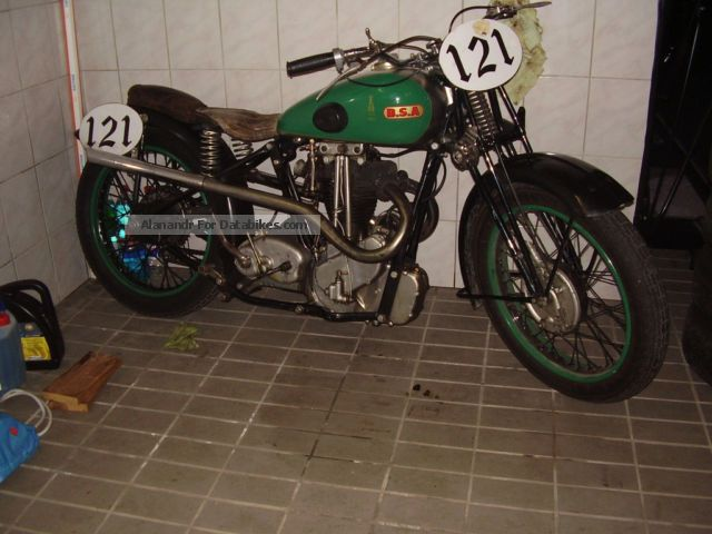 1936 BSA  bluestar 500 Motorcycle Motorcycle photo