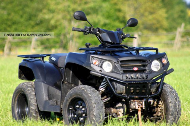 2010 Aeon  Crossland X4 350 - all - wheel winch Motorcycle Quad photo