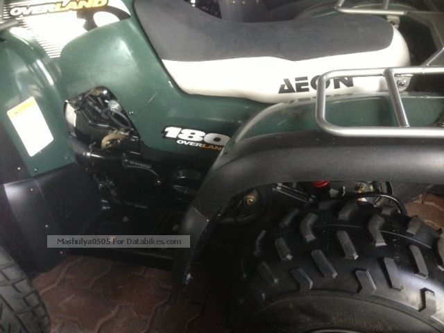 2006 Aeon  Overland 150 Motorcycle Quad photo