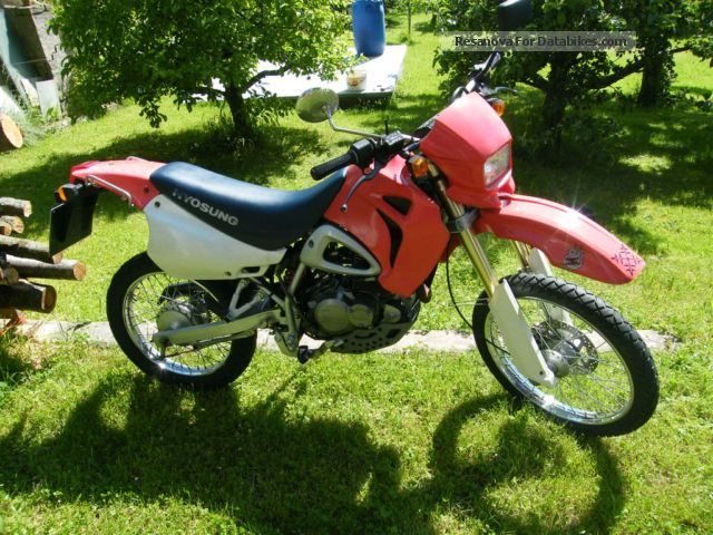 2000 Hyosung  RX 125 Motorcycle Enduro/Touring Enduro photo