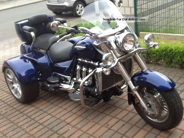 2012 Rewaco  CT 2300 T 20 Triumph Rocket III Anniversary 20y Motorcycle Trike photo