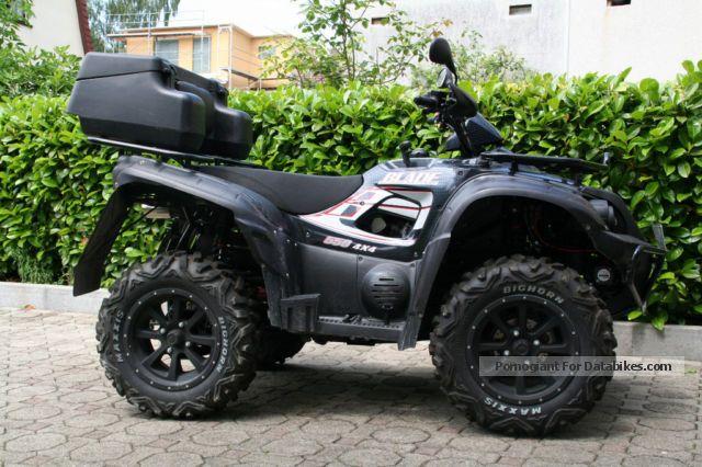 2012 TGB  Blade 4x4 LOF 550irs Motorcycle Quad photo