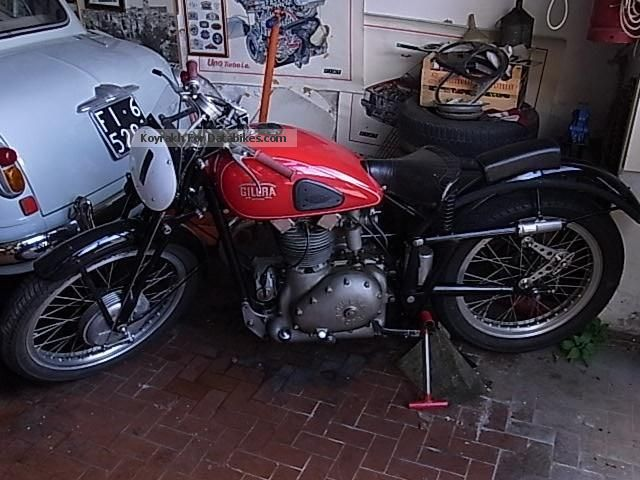 Gilera  Others saturno 500 Competizione 1950 Vintage, Classic and Old Bikes photo
