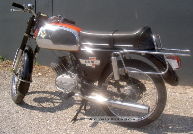 DKW  RT 139 moped 1972 Vintage, Classic and Old Bikes photo