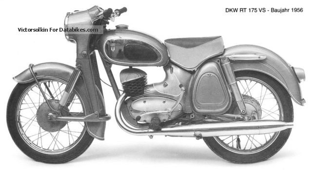 DKW  RT 200 VS 1958 Vintage, Classic and Old Bikes photo