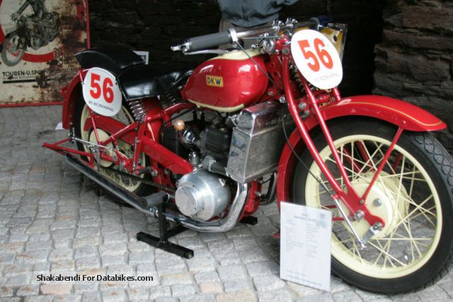 DKW  SS 600 1929 Vintage, Classic and Old Bikes photo