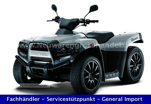 2012 Cectek  Quadrift 525 EFI T6 LOF including delivery inkl.LOF Motorcycle Quad photo