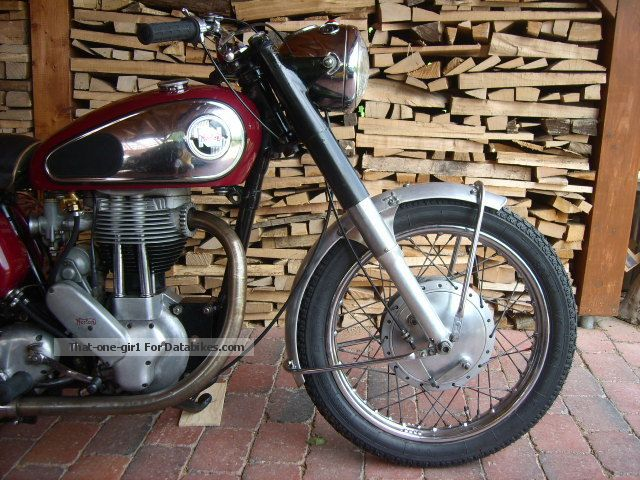 Norton  M 50, very original, TÜV upon request, Chronometer 1957 Vintage, Classic and Old Bikes photo