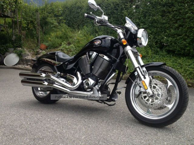 2007 VICTORY  Hammer Motorcycle Chopper/Cruiser photo